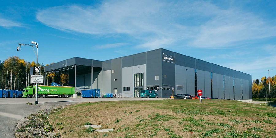 Infinitum has three purpose-built sorting facilities in Norway