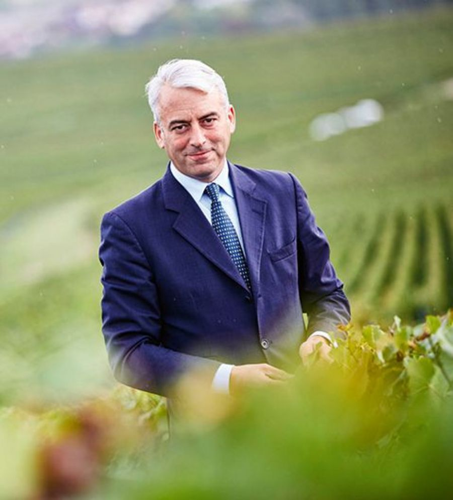 Gilles de Larouzière represents the eighth generation of the family at the helm of Champagne Henriot