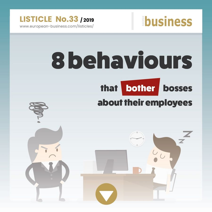 8 behaviours that bother bosses about their employees