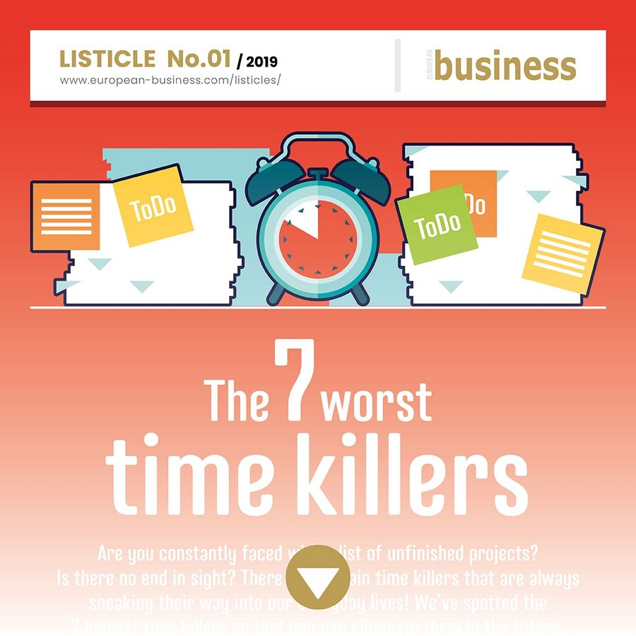 The 7 worst time killers