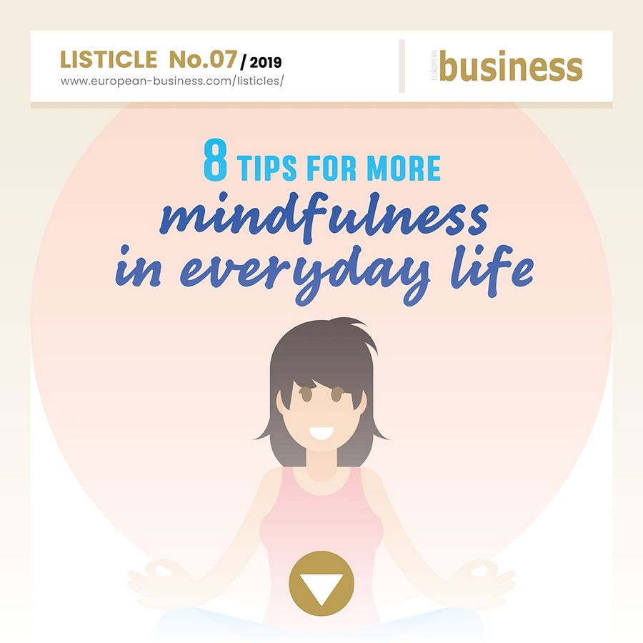 8 tips for more mindfulness in everyday life