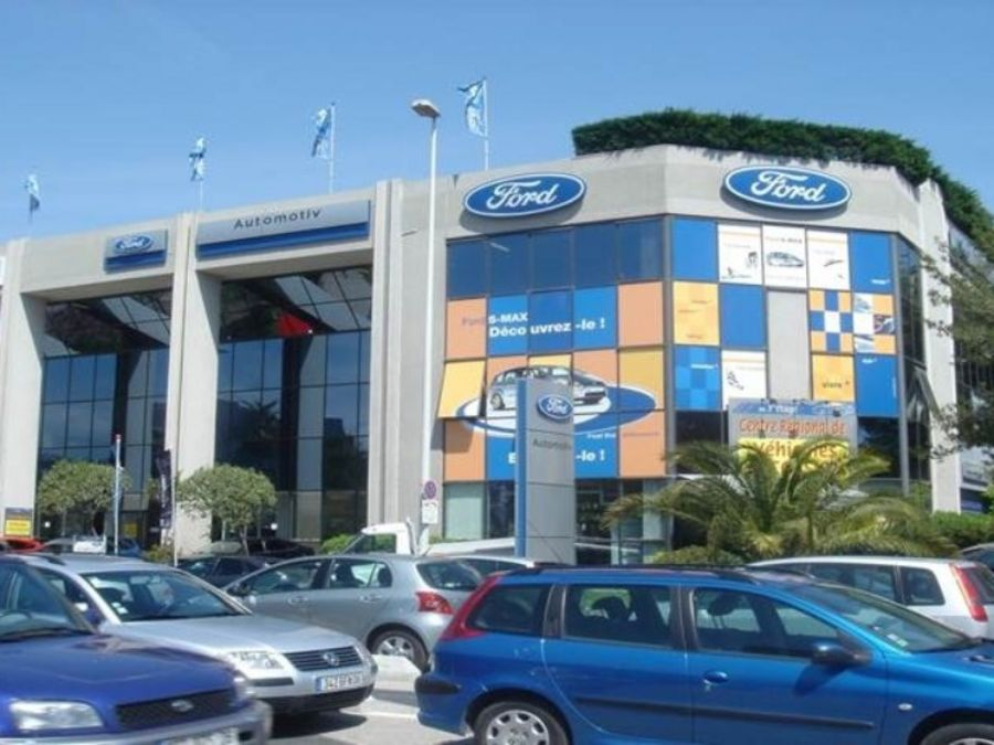 Ford cars on the Cote d'Azur