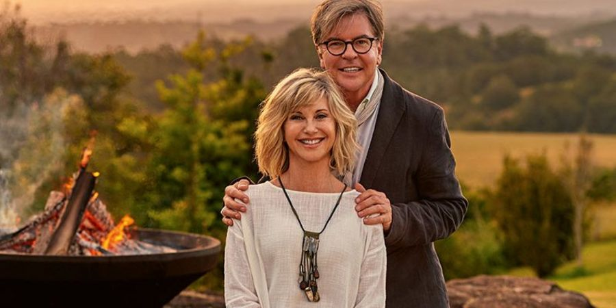 Olivia Newton-John, Co-Owner, and Gregg Cave, Director and General Manager of Gaia Retreat and Spa