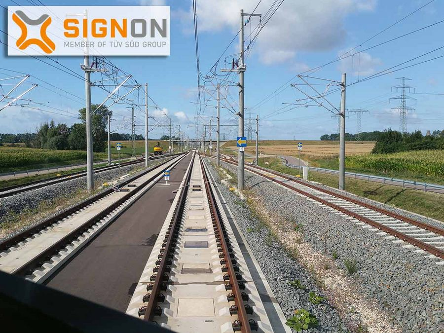Signalling top technology on European railways