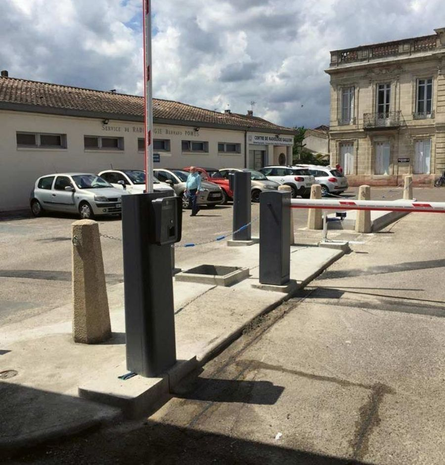 BFT parking barriers