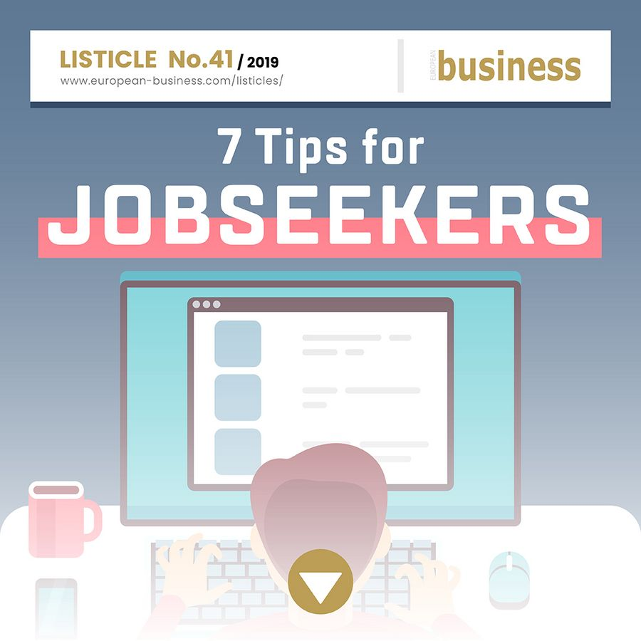 7 tips for jobseekers