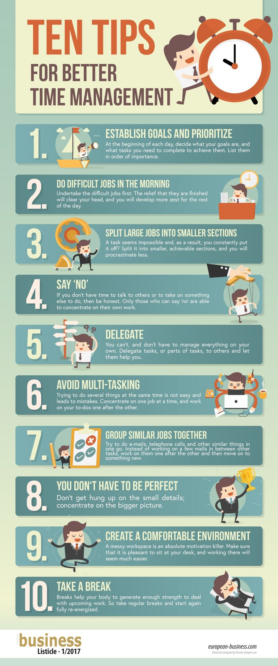 20 quick tips for better time management – be more ...  Time Management Tips