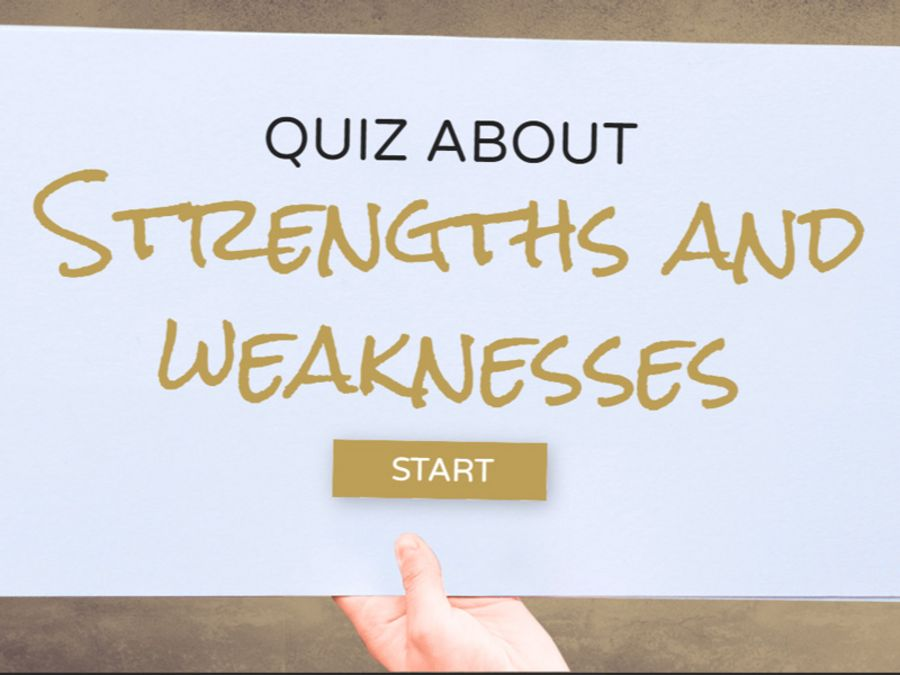 Quiz about Strengths and Weaknesses