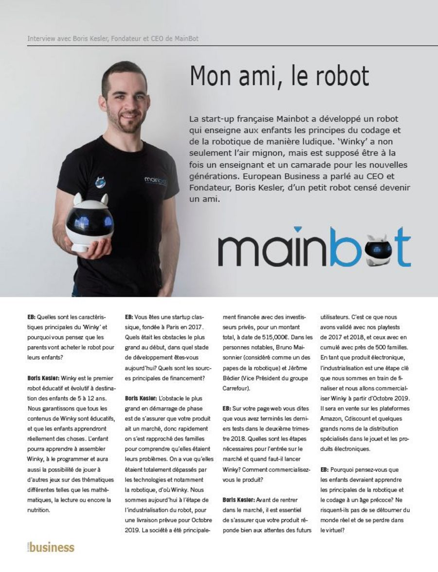 mainbot article