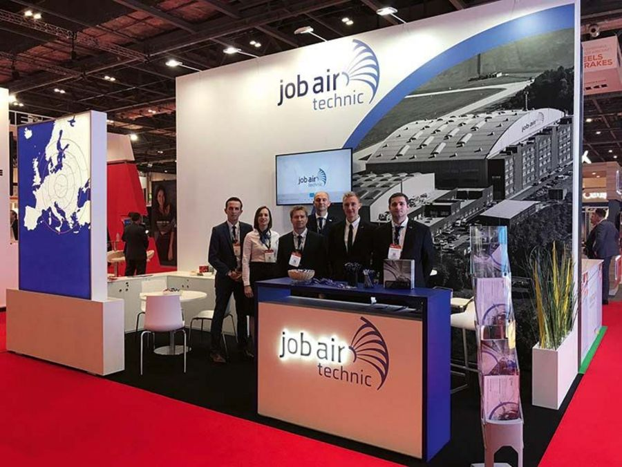 Job Air trade fair stand