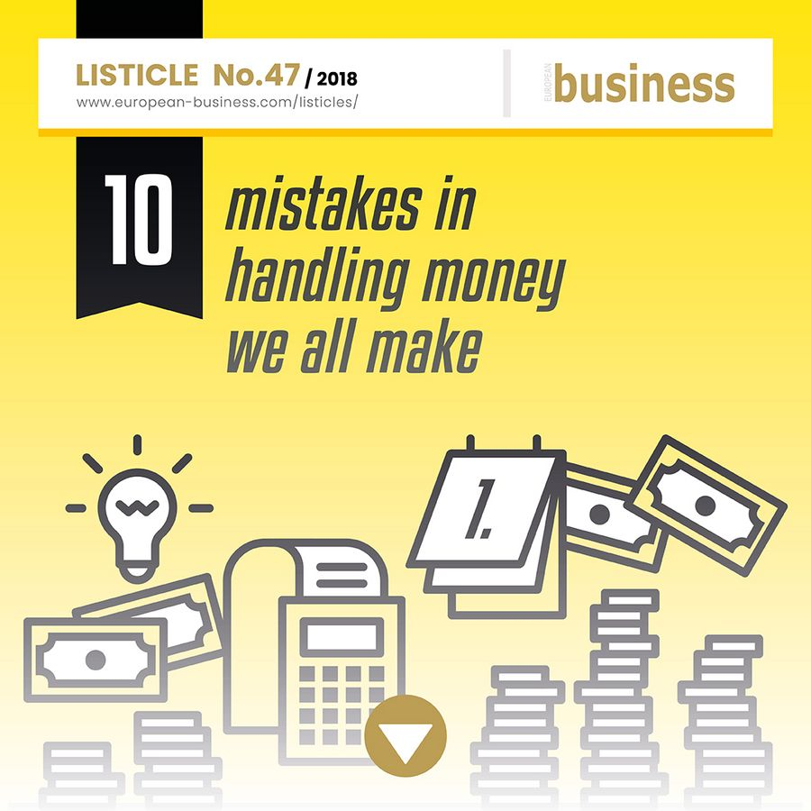 10 mistakes in handling money we all make