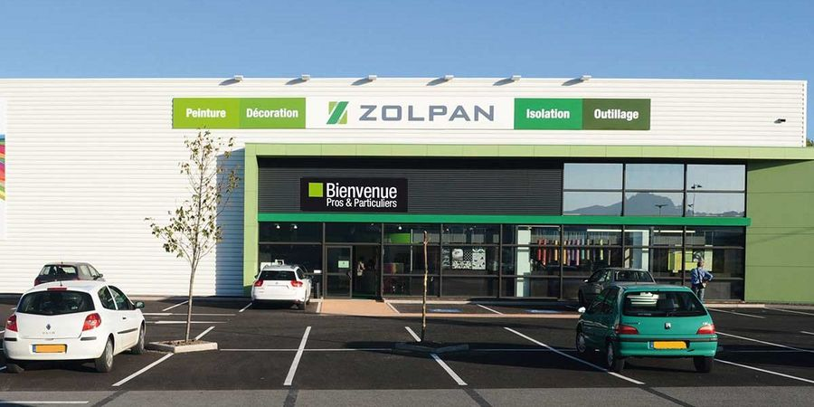 Zolpan has its own network of 170 retail outlets