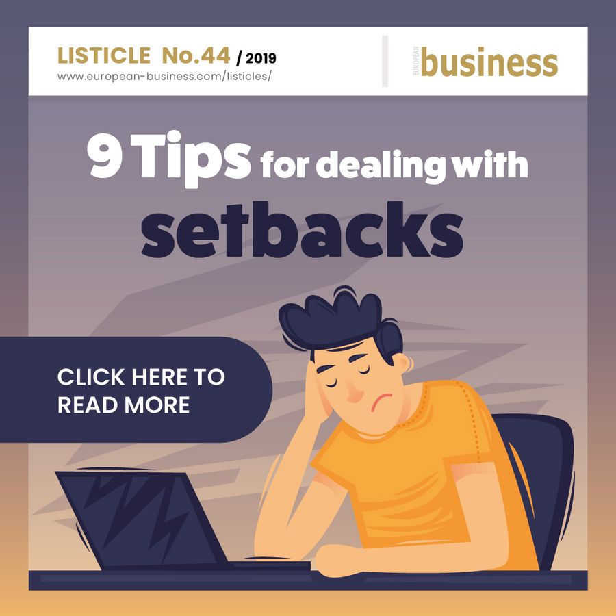 9 tips for dealing with setbacks
