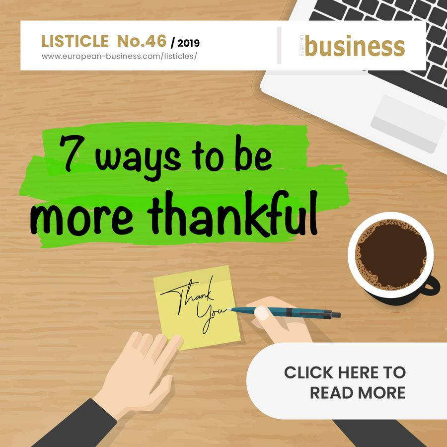 7 ways to be more thankful