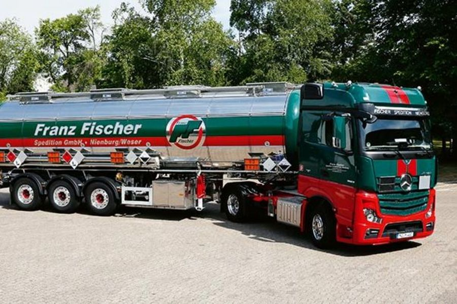 Franz Fischer Spedition Truck