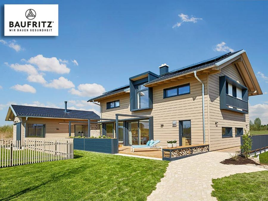Baufritz model homes once again distinguished with the rating 'very good'