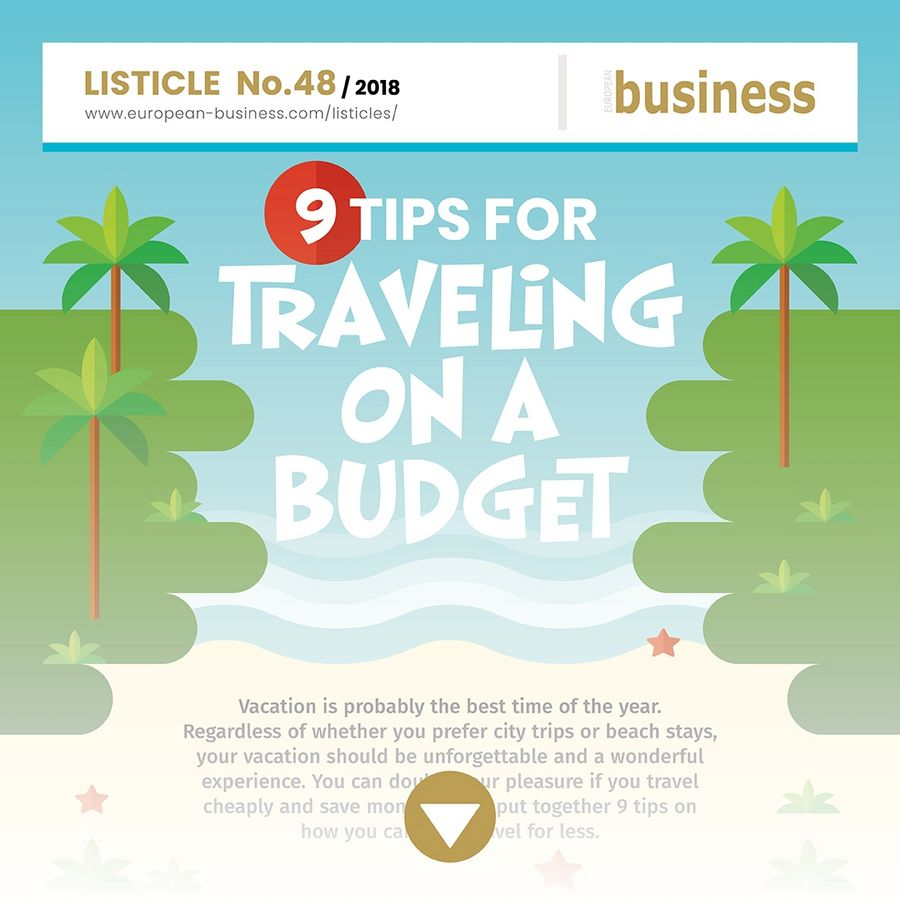 9 tips for traveling on a budget
