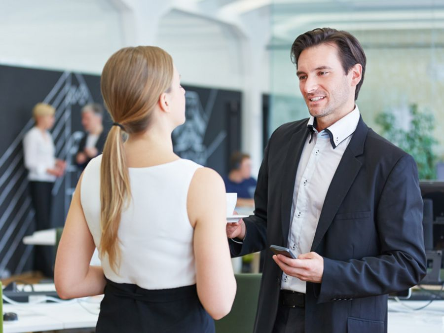 Business Etiquette Smalltalk: The key to successful smalltalk