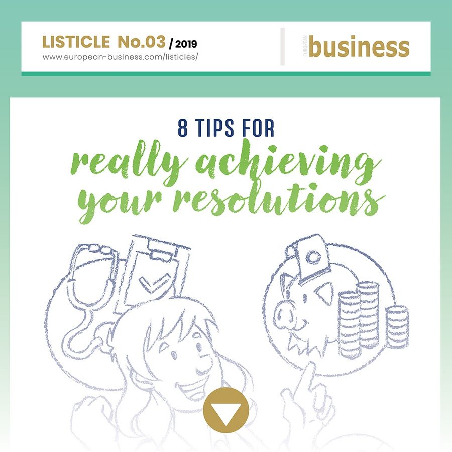 8 tips for really achieving your resolutions