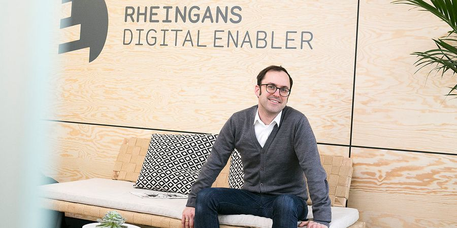 Lasse Rheingans, Managing Director of the Rheingans Digital Enable agency