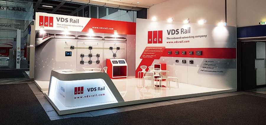 VDS Rail exhibition stand