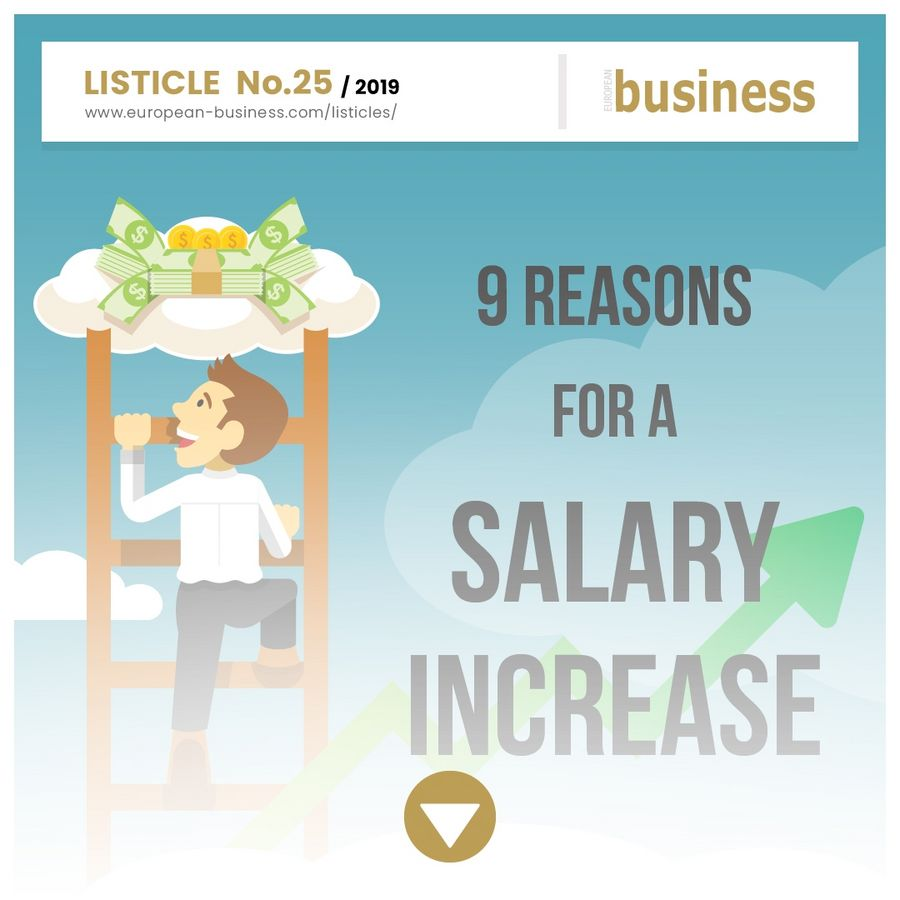 9 reasons for a salary increase