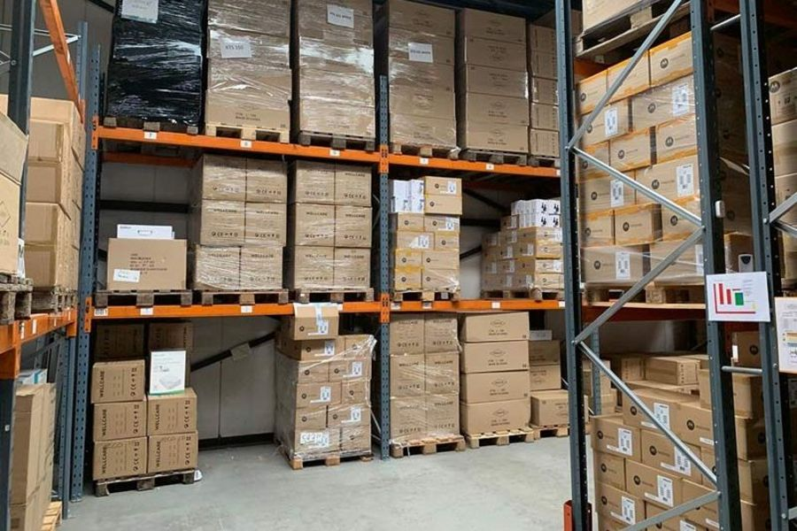 Cresta International warehouse