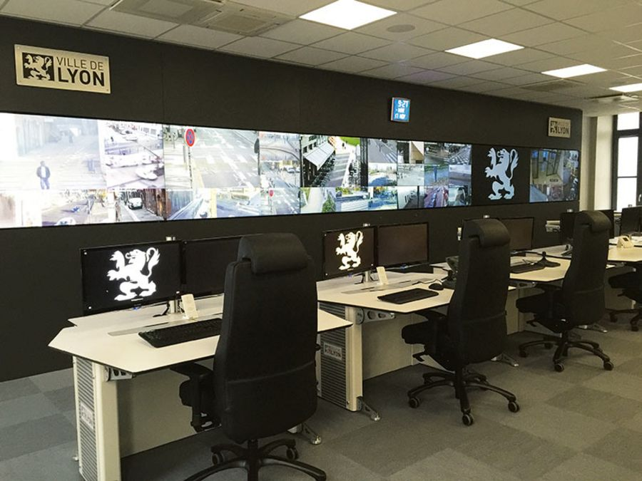 The Urban Supervision Center in Lyon was equipped by SIPPRO