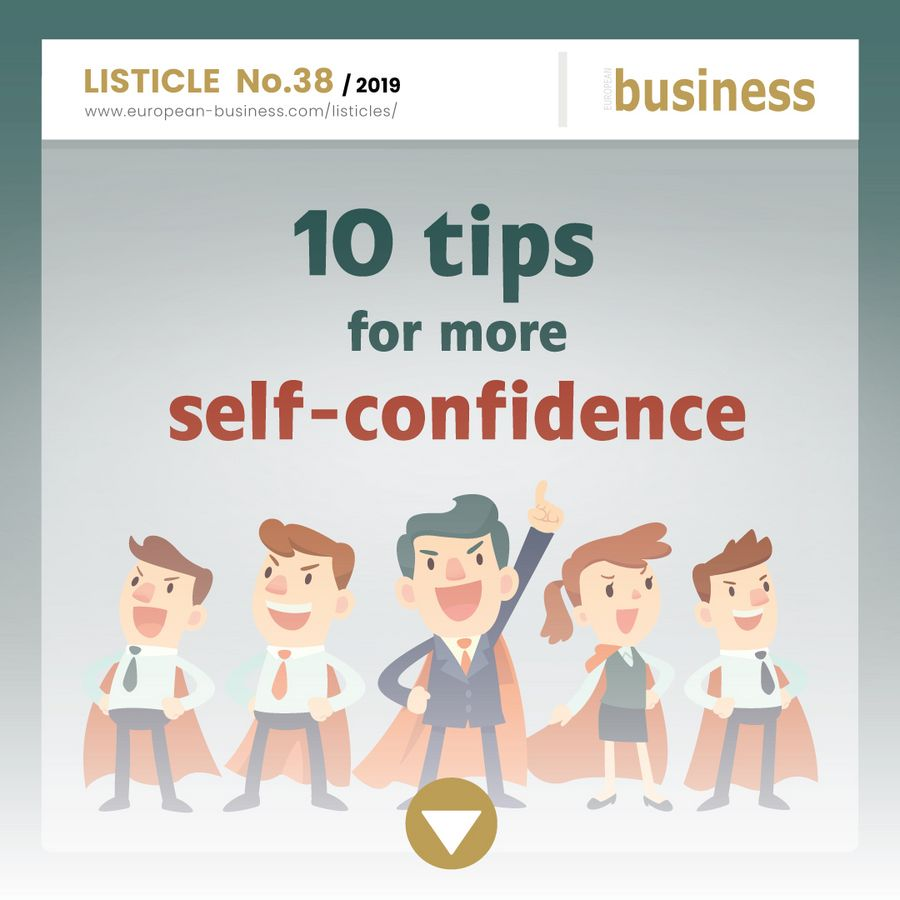 10 tips for more self-confidence