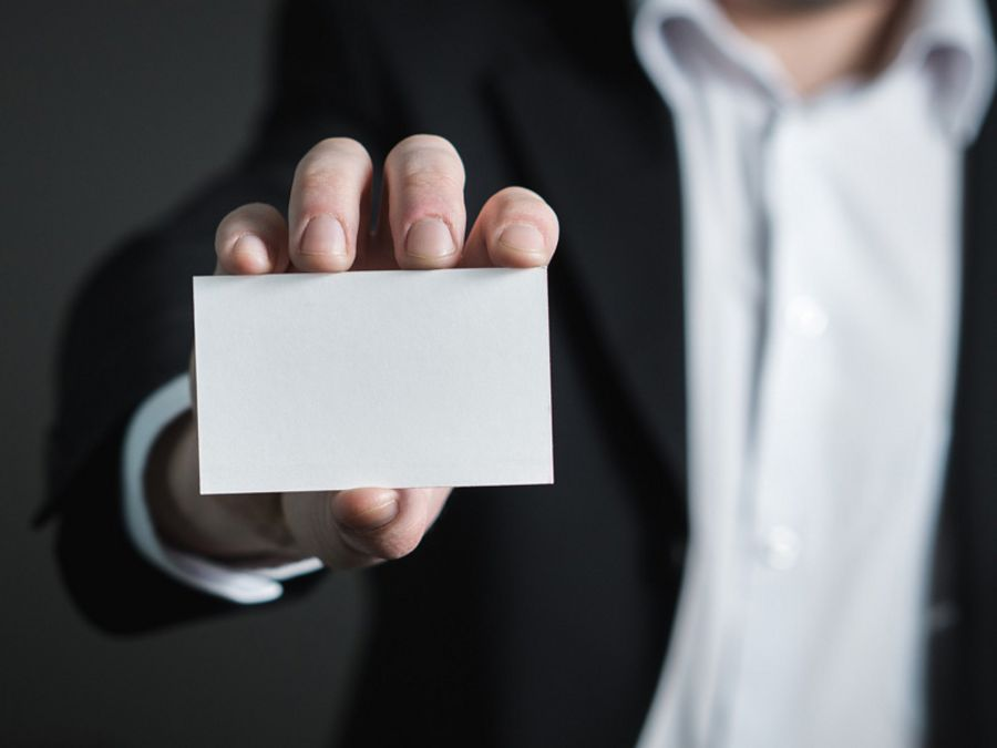 Business Etiquette: How to handle a business card correctly