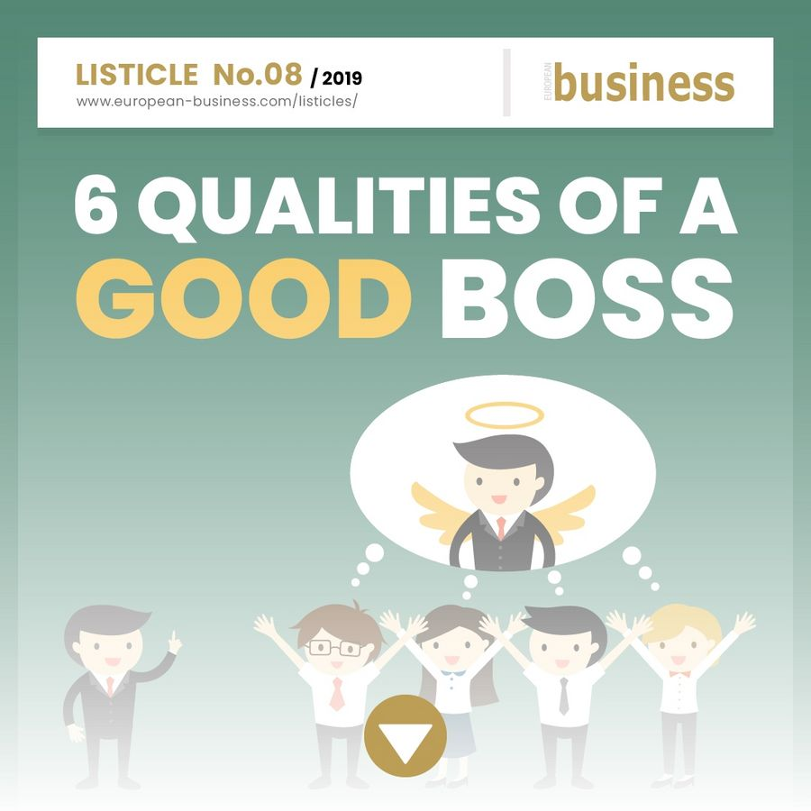 6 qualities of a good boss