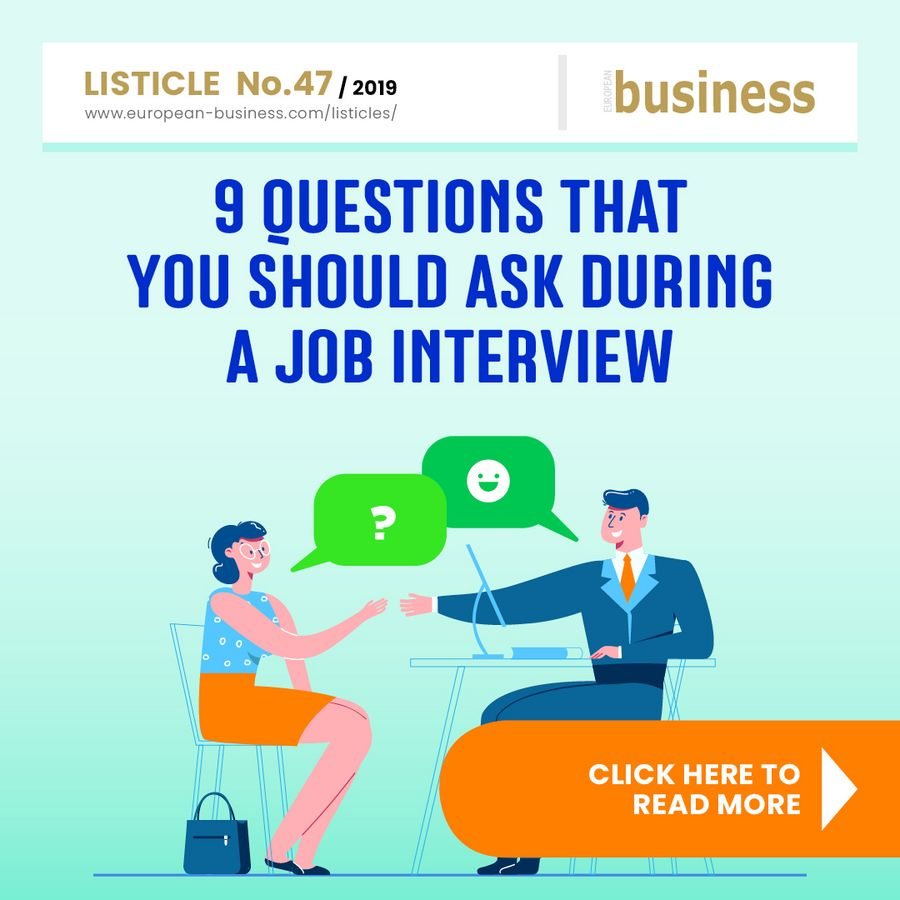 9 questions that you should ask during a job interview