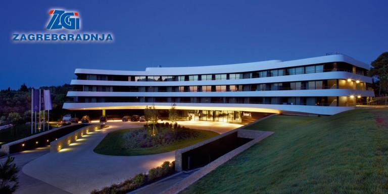 Zagrebgradnja doo european business hotel lone in rovinj croatia built for maistra dd night view of the hotel sisterspd