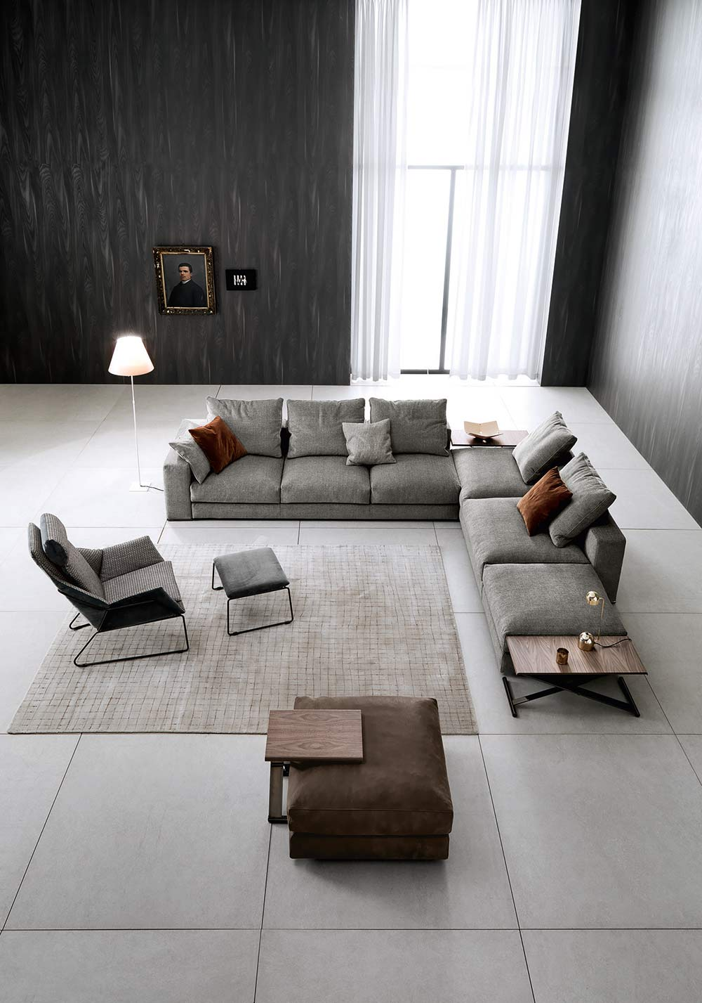 Saba Italia Srl  European Business - Designer sofas for living room