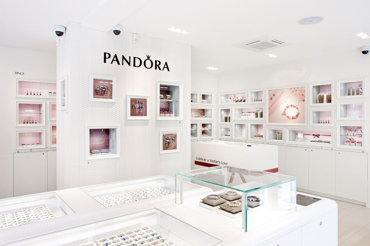 Pandora has over 2,000 concept stores around the world, staffed by sales  teams who are as passionate about Pandora's jewelry as its customers