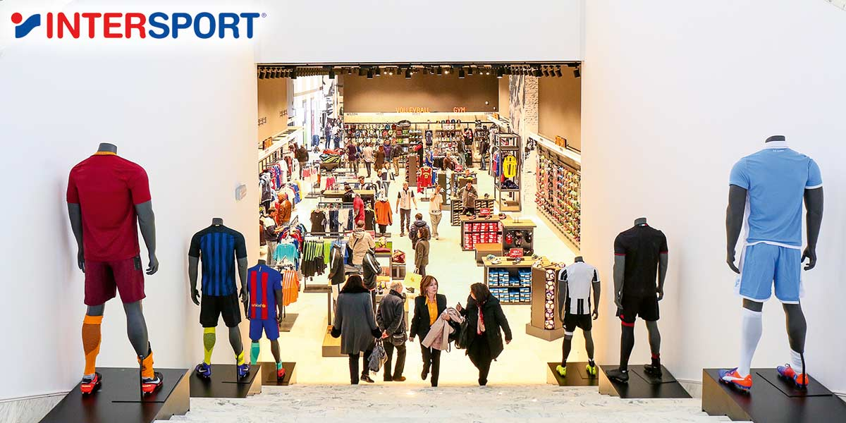 Cisalfa Sport stores are part of the Intersport Italia network 7aae0960db4