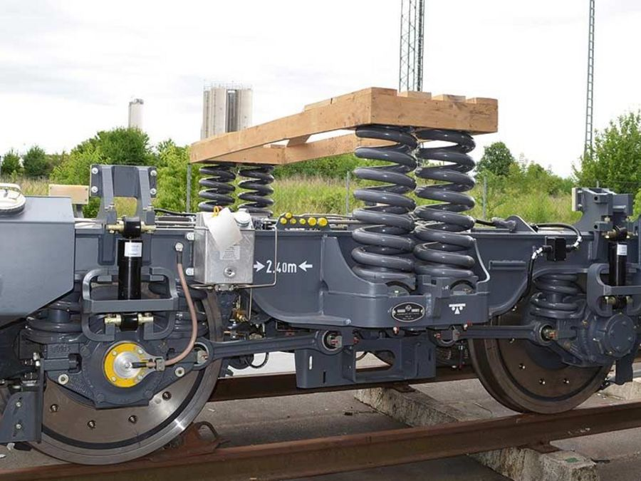 Build your own rail bogie