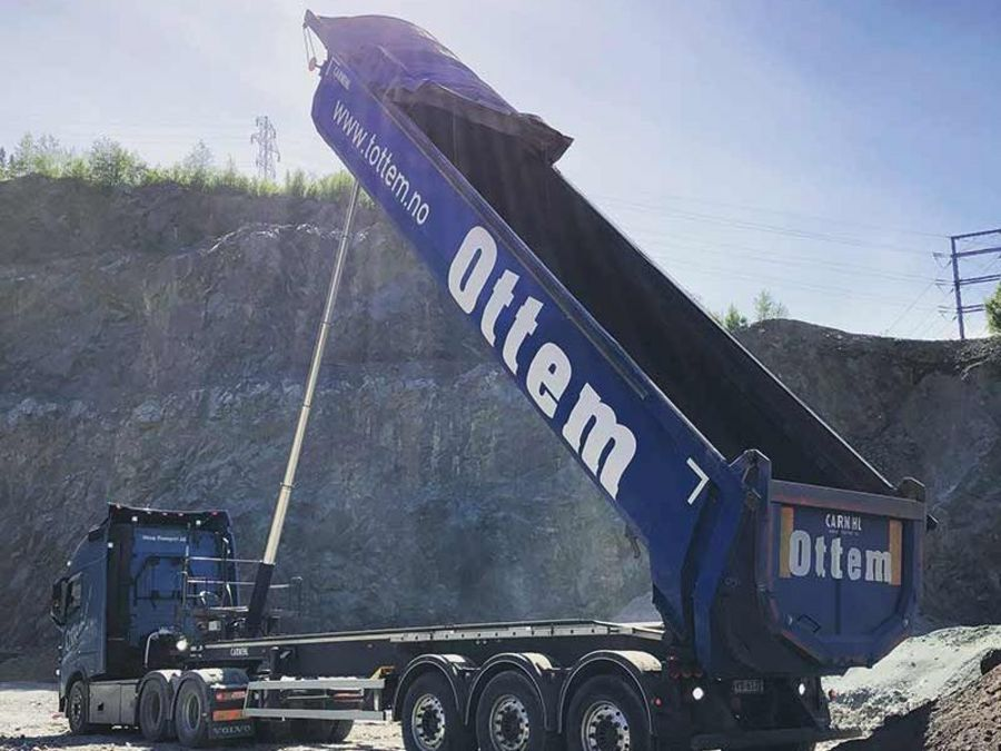 T Ottem tipper trucks