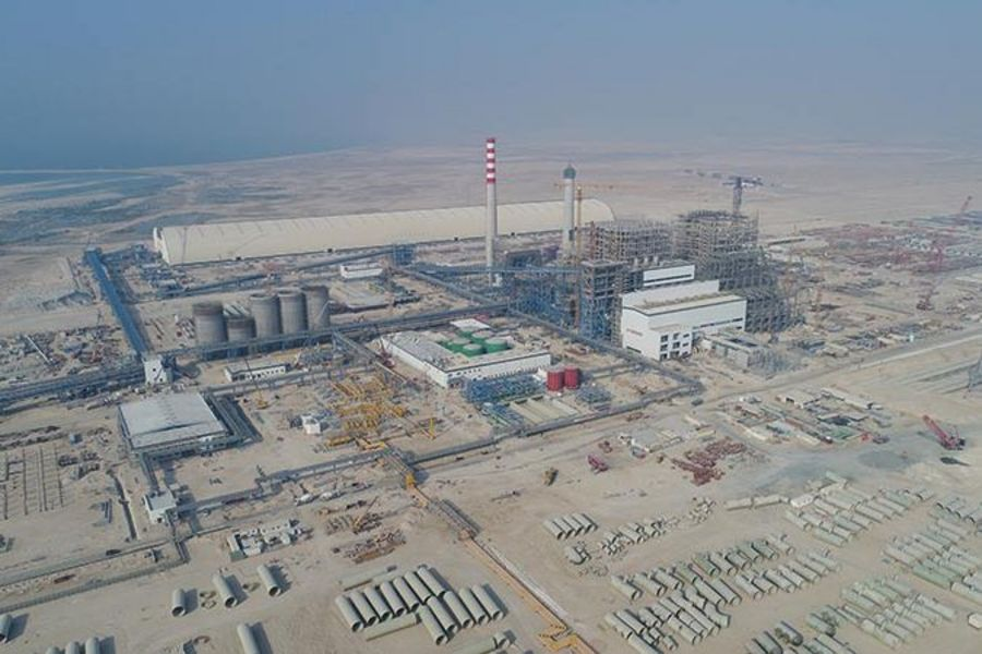 Incico power plant in Hassyan, Dubai