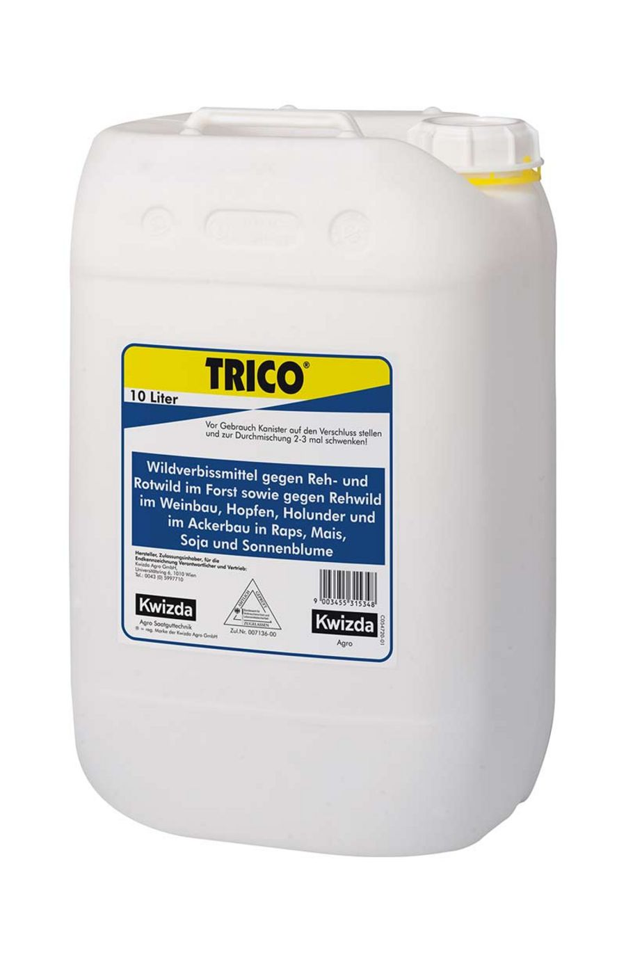 Helps trees to grow: Trico® prevents damage caused by game animals