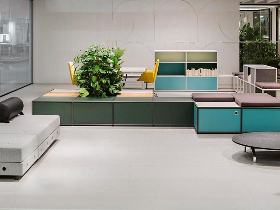 Intelligent furniture: Office projects for the 21st century